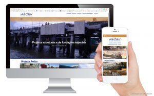 REDAV website responsive