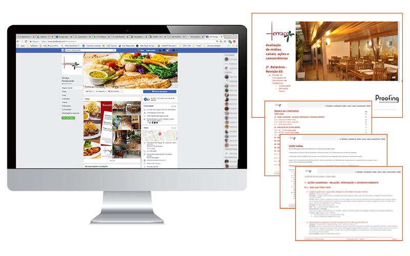Terraco Restaurante - Midia Sociais e Estudo de Posicionamento